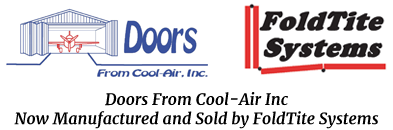 Doors from Cool-Air Inc Now Manufactured and Sold by FoldTite Systems